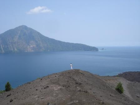 at elevation of  Tour Krakatoa - Krakatau volcano